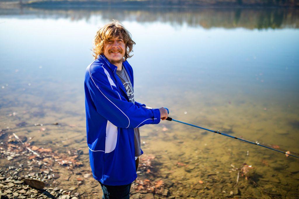 Lenny Fishing
