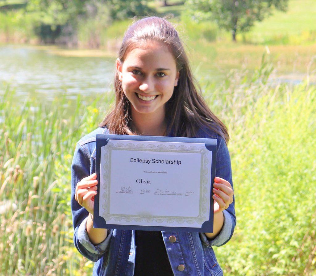 Scholarship Winner Olivia