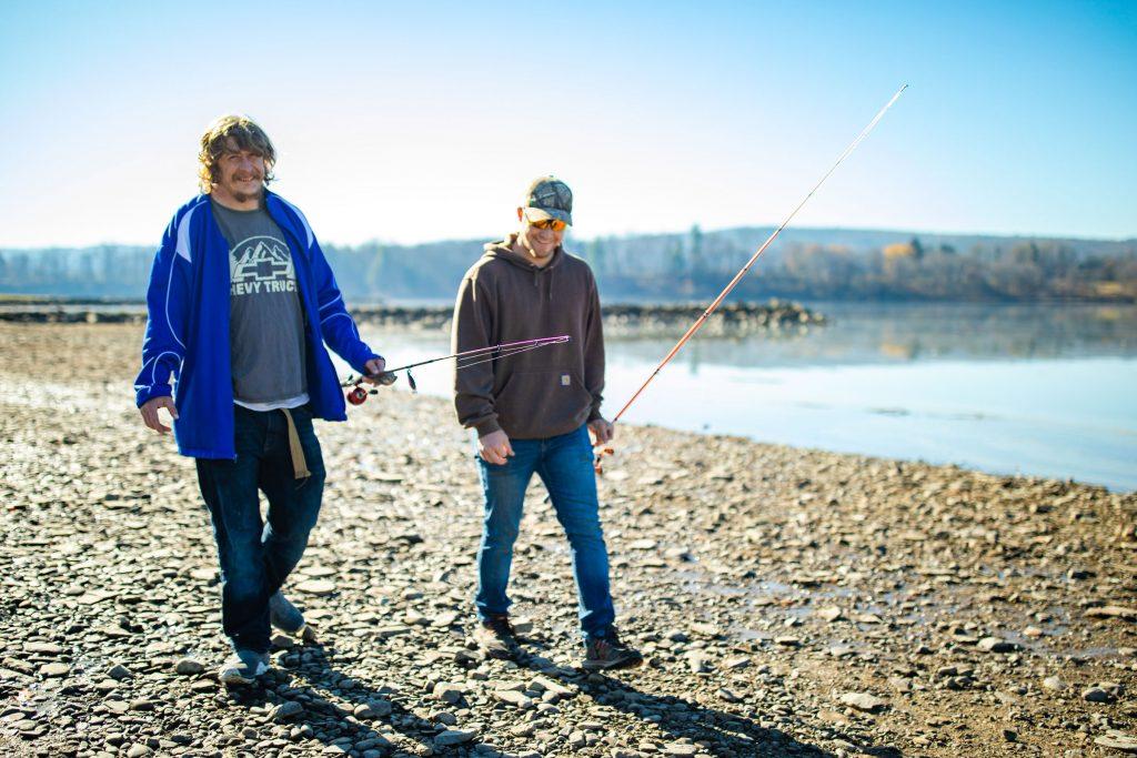 Developmental Disabilities Day Hab Lenny Fishing
